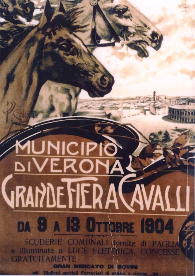 manifesto Fieracavalli 1904