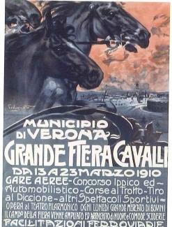 manifesto fieracavalli 1910