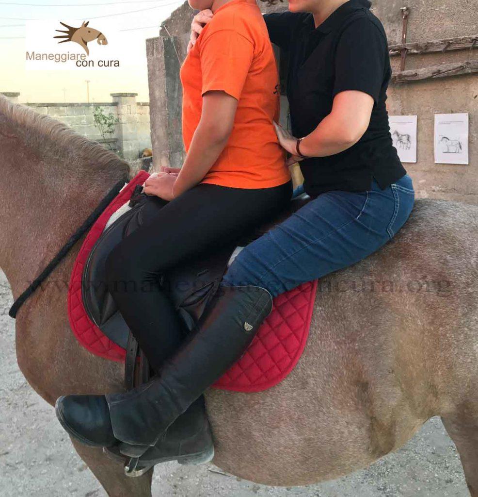 maternage in riabilitazione equestre