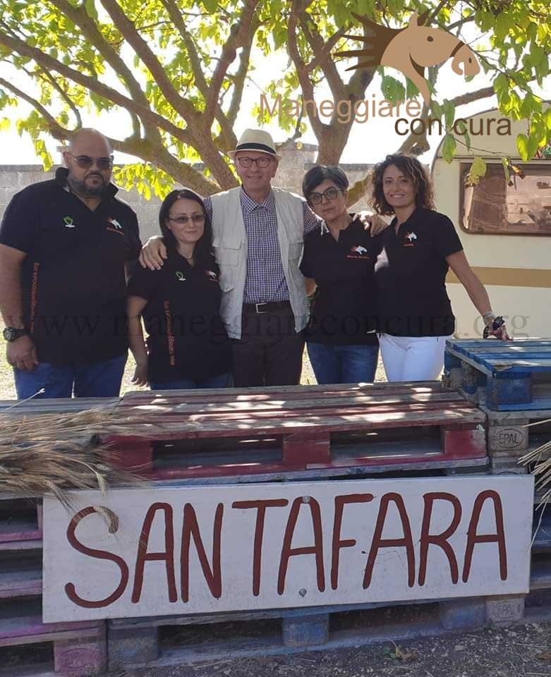 evento al Santa Fara Horse Club: lo staff
